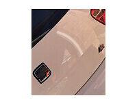 Car debadging service, great look