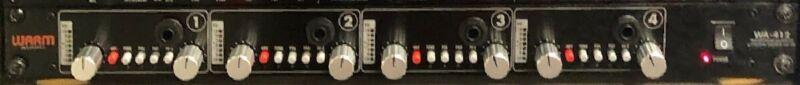 Warm Audio WA-412 4-channel Microphone Preamp w DI