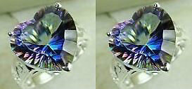 925 sterling silver ring glaring seven color