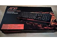 Computer Keyboard Gaming AFX Firefight - BRAND NEW - Multi Colour LED