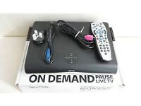 sky hd box -mint unmarked con'd with wi fi=£12