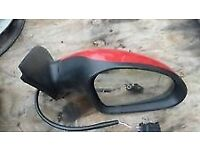 Seat Leon 04 Reg 2004 offside right Driver Side Wing Mirror -