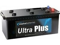 a pair of 12v ,ultra plus ,225ah leisure battery