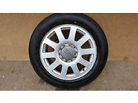 audi 16 inch a6 c5 alloy wheels x 4