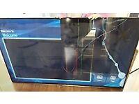 TV crack screen can be repair .