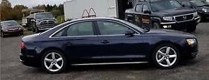 2011 Audi A8 - 2 Sets of wheels (Winters currently equiped)