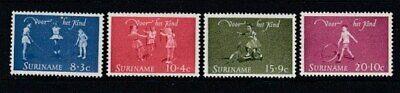 SURINAME Child Welfare 1964 MNH set