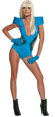 standard size adult Womens LADY GAGA swimsuit Halloween costume POKER FACE (Gaga Halloween)