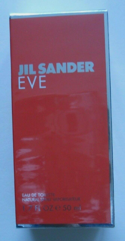 Eve von Jil Sander Eau de Toilette Sprays 50ml für Damen, neu/OVP