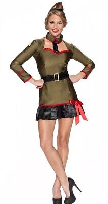 SEXY WOMEN'S LICENSED PLAYBOY CORPORAL CUTIE MILITARY HALLOWEEN COSTUME SIZE: XS (Military Halloween Costume)