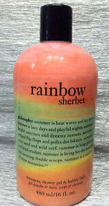 Philosophy 3 in 1 Shower Gel Bubble Bath Shampoo 16oz SEALED Shipping Discount!