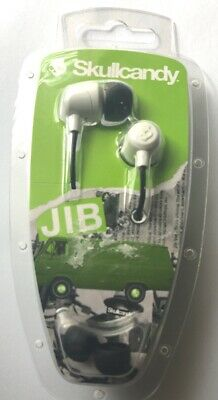 SkullCandy JIB Noise Isolating In-Ear Earbud/Headphone -White Model #:S2DUDZ-072 for sale  Shipping to India