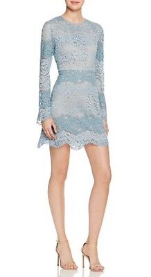 Wayf Lovers Dream Mini Lace Dress  M  Nordstrom