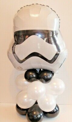 STAR WARS STORM TROOPER FOIL BALLOON TABLE DISPLAY BIRTHDAY PARTY  AIR FILL ONLY