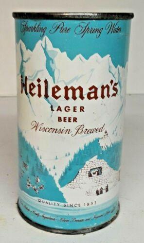 Heileman's Lager Beer - 1950's Flat Top Can.  La Crosse, Wisconsin - WI