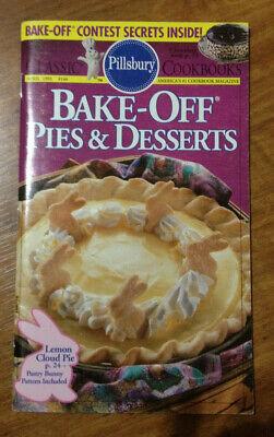 Pillsbury Bake-Off Pies and Desserts April 1993 Bake Off Desserts