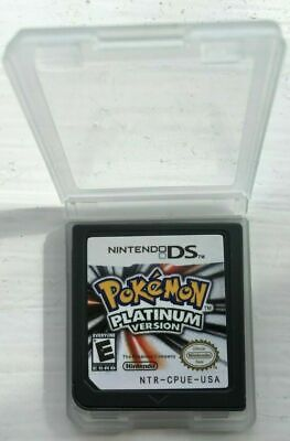 Pokemon: Platinum Version (Nintendo DS, 2009), Game card only