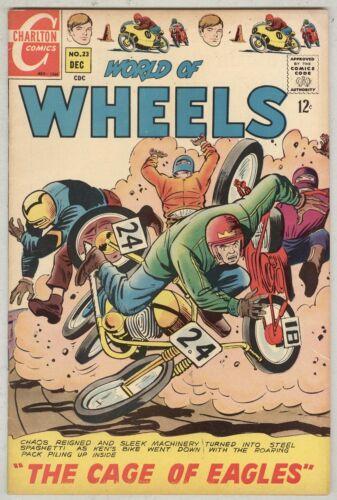 World of Wheels #23 December 1968 VG/FN