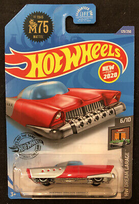 Hot Wheels Red Mattel Dream Mobile 1:64 Diecast HW Dream Garage 6/10 New 2017