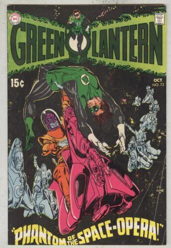 Green Lantern #72 October 1969 VG