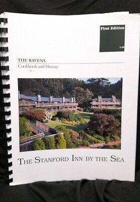 Ravens Cookbook and History Stanford Inn by the Sea VEGAN Green Stanford OOP