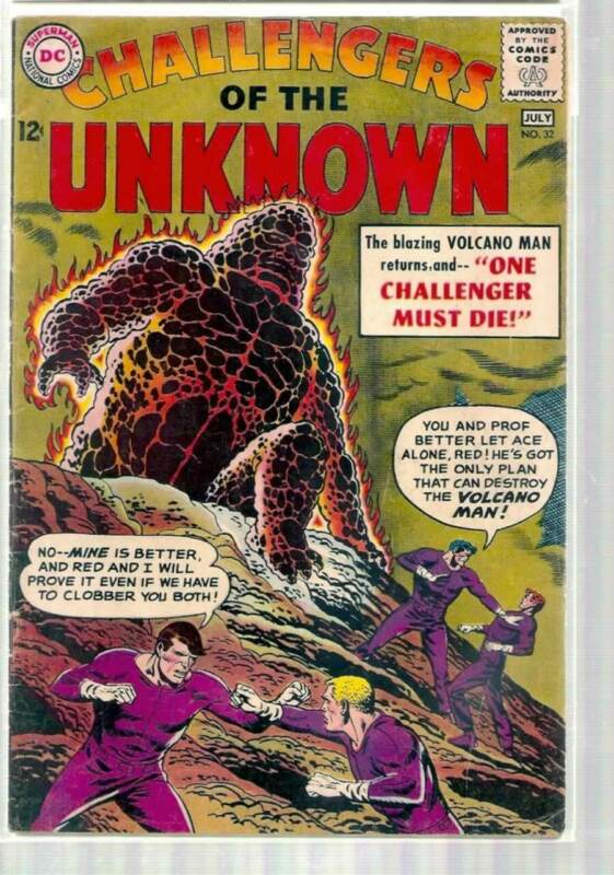 CHALLENGERS OF THE UNKNOWN #32