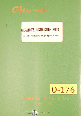 Okuma Ls Lathe Operators Instructions Year 1967