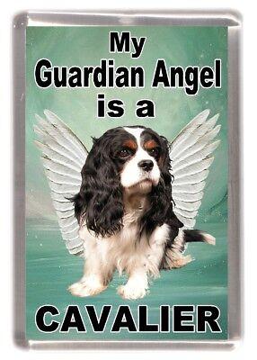 "Cavalier King Charles Spaniel Fridge Magnet ""My Guardian Angel is "" by Starprint"