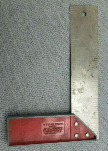 """Vintage Stanley Handyman no 501 Square 8"""" Made in the USA"""
