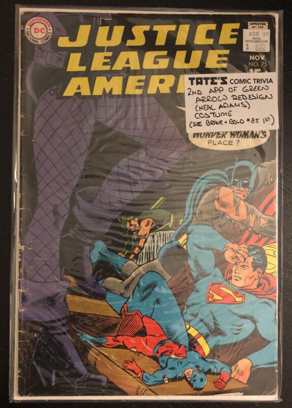 Justice League of America #75 (1969) DC