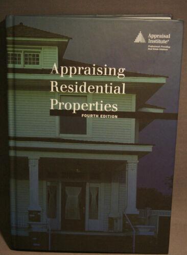 APPRAISING RESIDENTUAL PROPERTIES 4TH EDITION