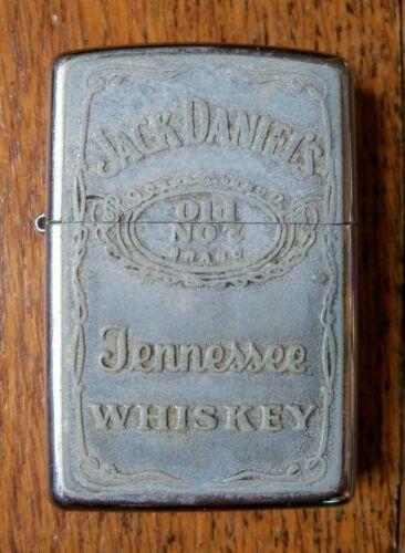"Vintage 2004 Zippo Advertising ""Jack Daniels Old #7 Brand"" Lighter"