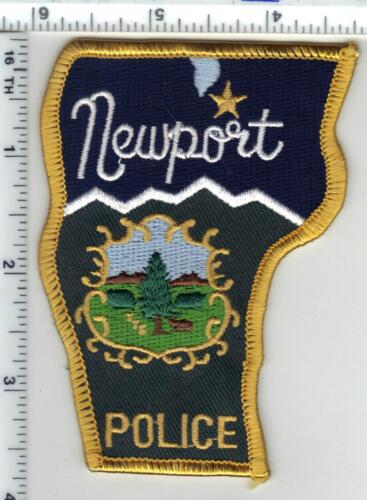 Newport Police (Vermont) Shoulder Patch from the 1980
