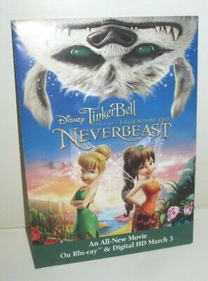 DISNEY TINKER BELL LEGEND OF THE NEVERBEAST PROMO WILDFLOWERS SEED PACKET 2015