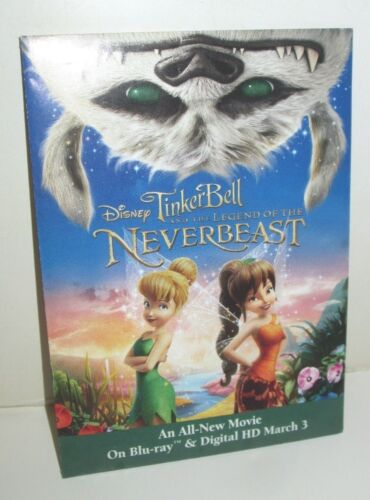 DISNEY TINKERBELL LEGEND OF THE NEVERBEAST PROMO WILDFLOWERS SEED PACKET 2015