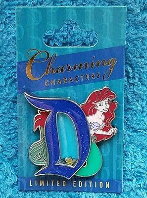 Disneyland pin of the month Charming characters Ariel Little Mermaid Disney pin