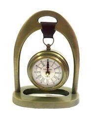 Handmade Antique Finish Table Clock 49 Bond Street Nautical Home Decor Clock