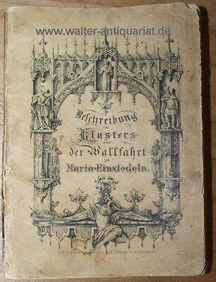Beschreibung des Klosters und der Wallfahrt zu Maria-Einsiedeln 1858 m.12 Tafeln