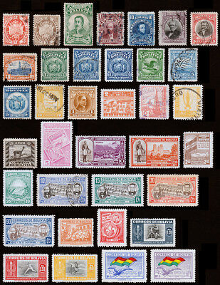 Bolivia Scott 41 // RA22(1894-1957) Used/Mint H F-VF, CV $31.95