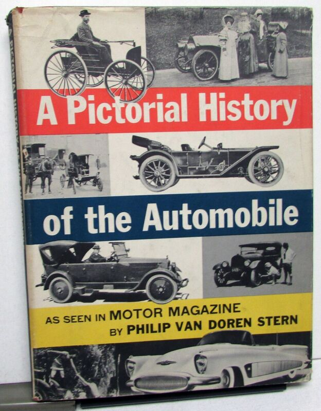 A Pictorial History Of The Automobile 1903-1953 Hardback Book Packard Chevy Ford