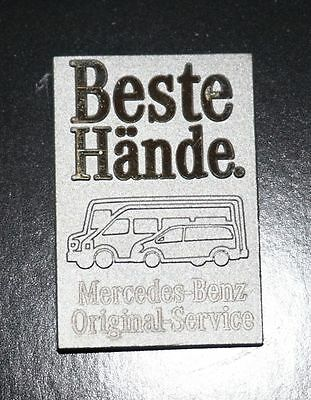 """Mercedes-Benz """"Beste Hände"""" Original-Service für Transporter PIN in OVP"""