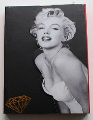 Marilyn Monroe Small Note Book Notebook with Magnetic Fastener TC704