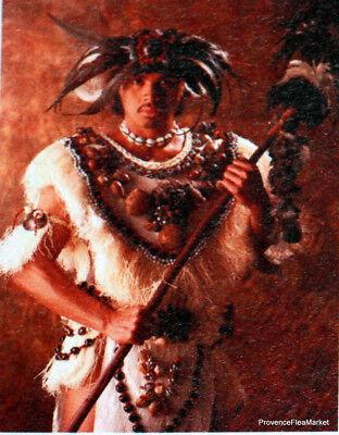 Yt 533 Heiva Kostüm Tanz Tahiti Polynesien Französisch FDC 1° (1 Tag Kostüm)