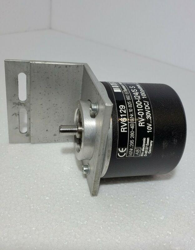 IFM Electronic RV6129 Solid Shaft Encoder 10-30VDC