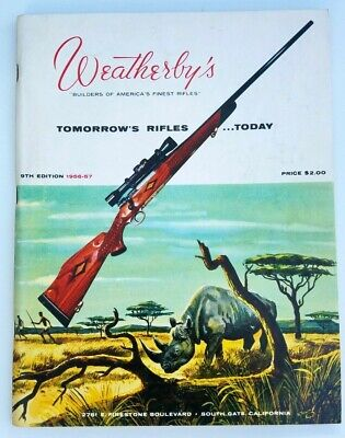 Both Very Nice 1994 Weatherby Catalog and 1994 Weatherby Retail Price List