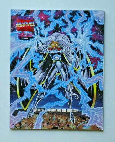 MEGA MARVEL CONSUMER EDITION CATALOG DECEMBER 1995 STORM COVER