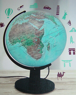 Beleuchteter Globus Leuchtglobus,30cm,LED-Beleuchtung,Deutsch,NEU!