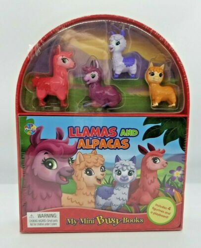 Llamas and Alpacas My Mini Busy Board Book Rare BNIB  FREE SHIPPING