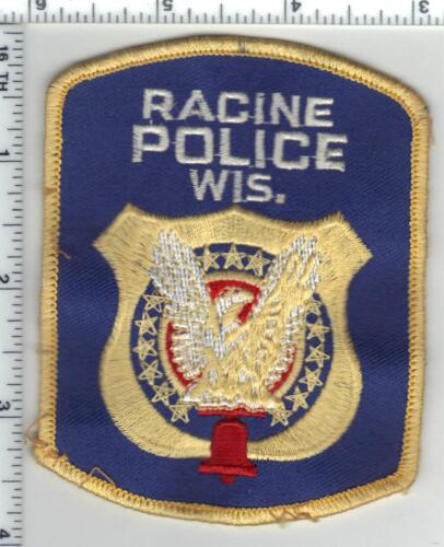Racine Police (Wisconsin) 3rd Issue Uniform Take-Off Shoulder Patch