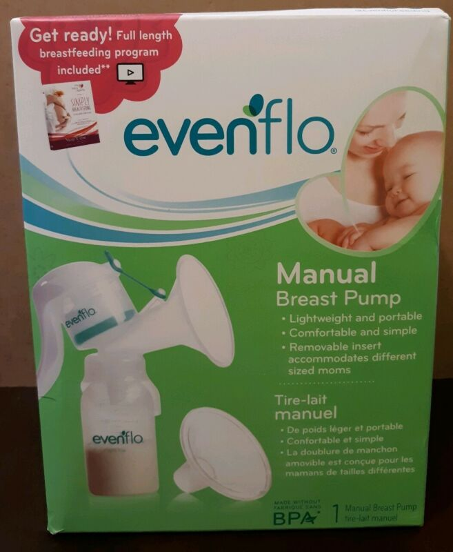 Evenflo Manual Breast Pump Lightweight & Portable (2860)